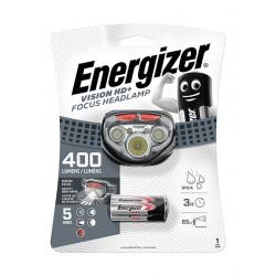 Energizer Vision HD+ Focus Headlamp 400 lm čelovka na baterie, stmívání, zaostřování