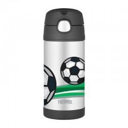 Thermos FUNtainer 0,355l dětská termoska s brčkem - fotbal(1)