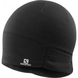 Salomon Elevate Warm Beanie W black C14298 dámská zimní sportovní čepice1