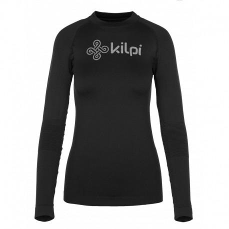Kilpi Divide-W černá dámské funkční termo triko dlouhý rukáv Opti-Dry
