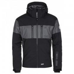 Kilpi Sattl-M černá pánská nepromokavá zimní lyžařská bunda 10000