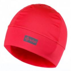 _Kilpi Tail-U růžová dámská sportovní funkční zimní běžecká čepice uvnitř s fleecem změřen