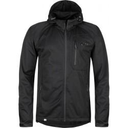 Kilpi Enys-M černá pánská lehká softshellová bunda 1