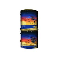 Fizan HW 20/08 multifunkční šátek / nákrčník / tubus motiv Západ slunce