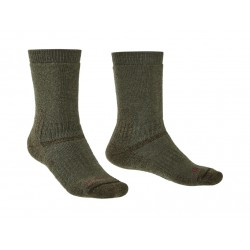 Bridgedale Explorer HW MP Boot (Unisex) olive trekové ponožky velmi teplé Merino vlna 1