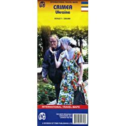 ITMB Publishing Crimea (Krym) 1:320 000 automapa
