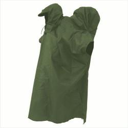 Jurek Trio olivově zelená turistické pončo s hrbem na batoh
