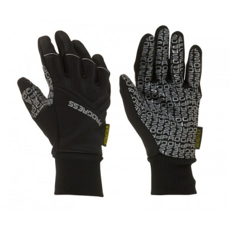 Progress Snowride černá unisex lyžařské rukavice Aerotex 9c85f54783
