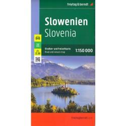 Freytag a Berndt Slovinsko 1:150 000 automapa