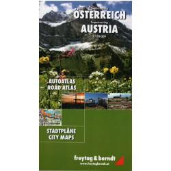 Freytag a Berndt Rakousko 1:150 000 autoatlas