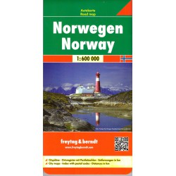 Freytag Norsko 1:600 000
