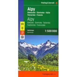Alpy 1:500 000