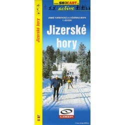 SHOCart Jizerské hory 1:60 000 zimní turistická a lyžařská mapa