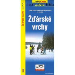 Shocart Žďárské vrchy - lyžařská mapa 1:60 000