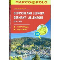 Marco Polo Německo 1:300 000 autoatlas