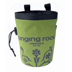 Singing Rock Chalk Bag Large světle zelená