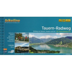 Bikeline Tauern-Radweg/Tauernská cyklostezka 1:50 000 cykloprůvodce