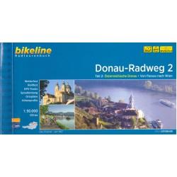 Bikeline Dunajská cyklostezka 2 (Donau-Radweg) 1:50 000 cykloprůvodce