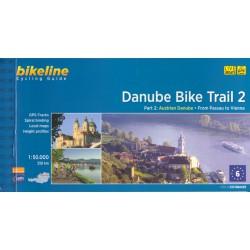 Bikeline Dunajská cyklostezka 2 (Danube Cycling Guide) 1:50 000 cykloprůvodce
