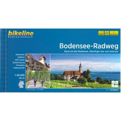 Bikeline Bodamská cyklostezka (Bodensee-Radweg) 1:50 000 cykloprůvodce