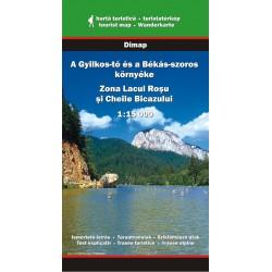 DIMAP Lacul Rosu/Červené jezero a okolí 1:15 000 turistická mapa