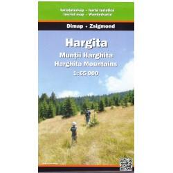 DIMAP Harghita 1:60 000 turistická mapa