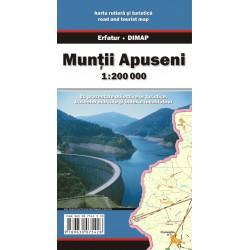 DIMAP Muntii Apuseni 1:200 000 automapa