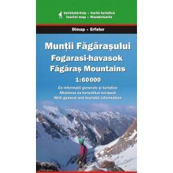 DIMAP Muntii Fagarasului/Fagaraš 1:60 000 turistická mapa