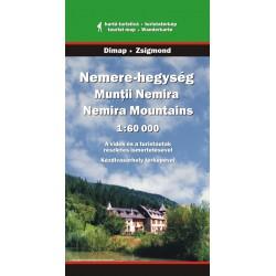 DIMAP Muntii Nemira 1:60 000 turistická mapa