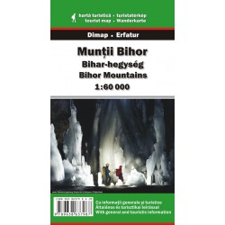 DIMAP Muntii Bihor 1:60 000 turistická mapa