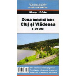 DIMAP Cluj/Kluž, Vladeasa 1:70 000 turistická mapa
