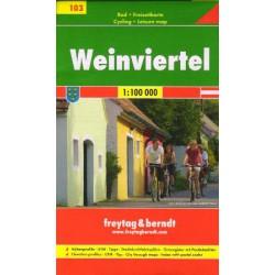 Freytag & Berndt 103 Weinviertel 1:100 000