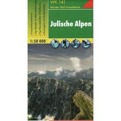 Freytag & Berndt WK 141 Julské Alpy 1:50 000
