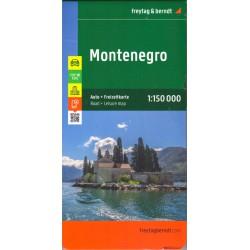 Freytag & Berndt Černá Hora 1:150 000 automapa