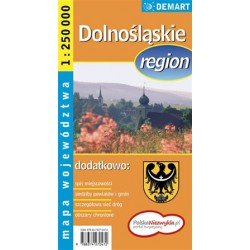DEMART Województwo Dolnośląskie/Dolnoslezské vojvodství 1:250 000 automapa