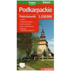 DEMART Województwo Podkarpackie/Podkarpatské vojvodství 1:250 000 automapa