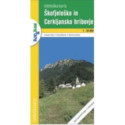 Geodet. zavod SLOV Škofjeloško in Cerkljansko hribovje 1:50 000