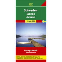 Freytag & Berndt Švédsko 1:600 000 automapa