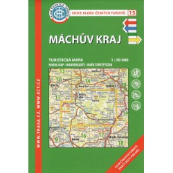 KČT 15 Máchův kraj 1:50 000 turistická mapa