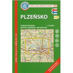KČT 31 Plzeňsko 1:50 000