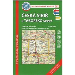 KČT 41 Česká Sibiř a Táborsko sever 1:50 000