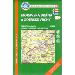 KČT 60 Moravská brána a Oderské vrchy 1:50 000