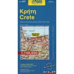 ORAMA 057 Crete/Kréta 1:150 000 automapa