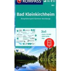 Kompass 063 Bad Kleinkirchheim 1:25 000