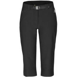 Zajo Yota Lady Pants černá dámské tříčtvrteční kalhoty