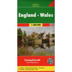 Freytag a Berndt Anglie, Wales 1:400 000 automapa