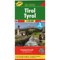 Freytag a Berndt Tyrolsko 1:150 000