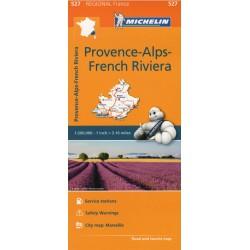 Michelin 527 Provence-Alpy-Francouzská Riviéra/Azurové pobřeží 1:200 000 automapa
