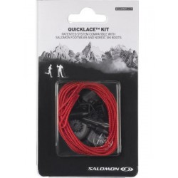 Salomon QuickLace Kit red 326674