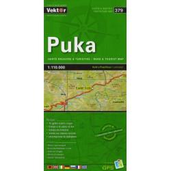 Vektor 379 Albánie Puka 1:110 000 automapa